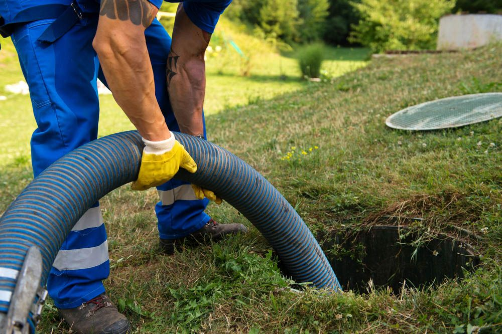 Why do you need to call a septic tank service?